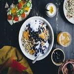 Полезный завтрак. Ягодное мюсли