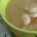 Суп с топинамбуром и сельдереем
