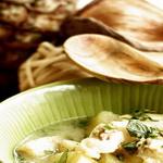 Рыбный суп с ананасом